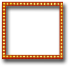 Broadway Lights Border Clipart Theatre Lounge ...